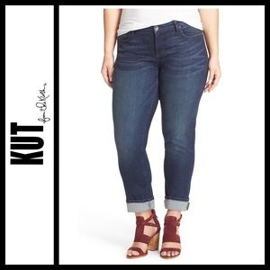 Kut from the Kloth Plus Catherine Boyfriend Jeans